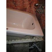 Реставрация чугунной(стальной) ванны фото