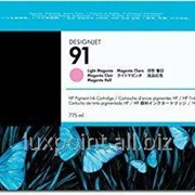 Картридж HP C9471A HP 91 Ink Cartridge фото