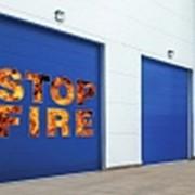 Противопожарные ворота фото
