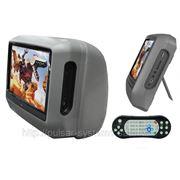 """Монитор в подголовник 9"""" (к-т 2 шт.) DVD, USB, SD, игры - INTRO CDH-93 фото"""