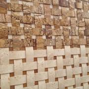 Травертиновая мозаика. Природный камень для отделки фото