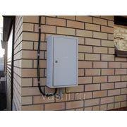 Монтаж ящика, устанавливаемого на конструкции на стене или колонне, на ток, А, до: 70 фото