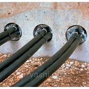 Ввод кабеля в здание или провода в стальной трубе, количество проводов в линии 3 фото