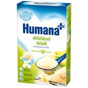 Молочная кукурузно-рисовая каша Humana с ванилью (250 г) фото
