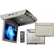"Потолочный монитор 10"" TV, DVD, USB, SD, HDMI - INTRO JS-1050 HD фото"
