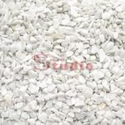 Крошка мраморная белая Каррара 3-7мм фото