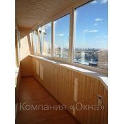 Изготовление, монтаж окон и балконов фото