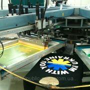Печать на одежде фото