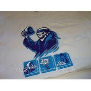 Печать на футболках (термотрансфер) фото