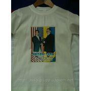 Фото на футболках в Запорожье фото