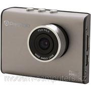 """Автомобильный видеорегистратор PRESTIGIO PCDVRR520 RoadRunner 520 (1920x1080 видео, 2"""" дисплей) Gun Color фото"""