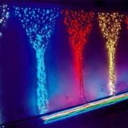 Светодиодный светодинамический занавес - Падающий свет фото