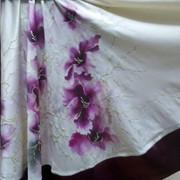 Роспись по ткани (батик) фото