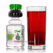 Детский яблочный сок с черноплодной рябиной без консервантов и сахара фото