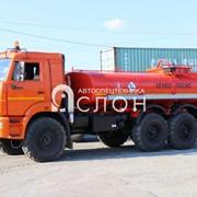 Автоцистерна АЦН-10 на шасси КАМАЗ 43118-50 фото