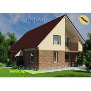 Комплект несущего каркаса двухэтажного дома Суоярви 152м2 фото