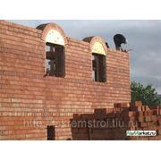 Кирпичные дома фото