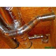 Вентиляция деревянного дома, сруба, брусчатника фото
