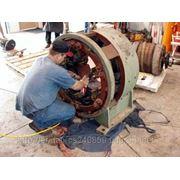 Капитальный ремонт и перемотка электродвигателей фото