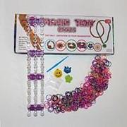 Набор для плетения браслетов Imagin Tion (Имэджин Тьен), 600 шт. резинок фото