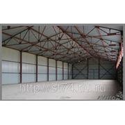 Строительство ангаров, складов, быстровозводимых зданий фото