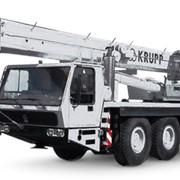 Автокран Krupp KMK 4070 фото
