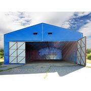 Изготовление легких металлокострукций (быстровозводимые здания). фото