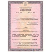 Лицензия Росохранкультуры, лицензия КГИОП, лицензия ГИОП, реставрационная лицензия, Лицензия Минкульта фото