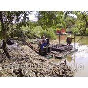 Укрепление берегов рек. Гидротехнические услуги фото