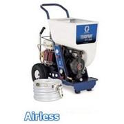 Автономный высокопроизводительный текстурный распылитель GTX ™ 2000 с бензиновым приводом, для нанесения фактурных покрытий фото
