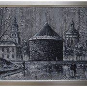Картина Городской пейзаж фото
