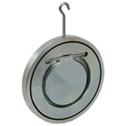 Клапан обратный Ду 32 межфланцевый стальной Ру16 фото