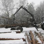 Тележка лесовозная МЛВ-11МА-5066 фото