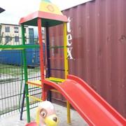 Детская башня с горкой 1м Артикул M001 фото