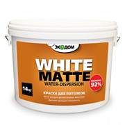 Краска для потолков Экодом белая фото