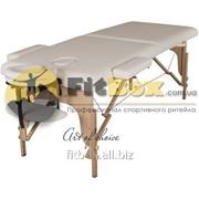 Массажный стол складной Art of choice Teo (бежевый), art: HQ01Y фото