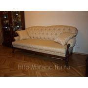 Классический диван с механизмом трансформации на заказ фото