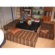 Мягкая мебель в кальянную фото