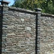 Забор из искусственного камня Танвальд фото
