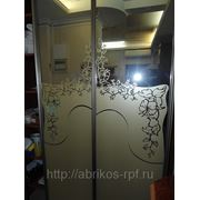 Декорирование зеркал и стекол фото