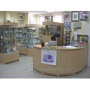 Мебель для сувенирных магазинов фото
