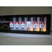 Внутренняя реклама табачных изделий фото
