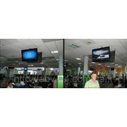 Сеть ЖК мониторов в аэропорту «Борисполь» фото