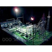 Промышленный макет. Изготовление. фото