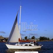Яхты парусно-моторные фото