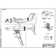 Перевод чертежей А4 (210х297 мм) в электронный формат *.dwg фото