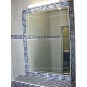 Зеркало на заказ в ванную фото