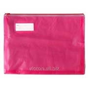 Папка-конверт на zip-молнии, плотная, расширение дна 3 см, economix E31304 фото