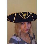 Пиратская треуголка большая, арт.797 фото