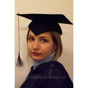 Шляпа, магистр, бакалавр, судья. арт.770 фото